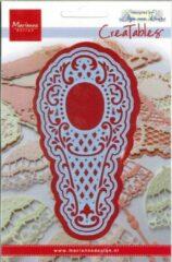 Blauwe Marianne Design Creatables Vintage Fan 1