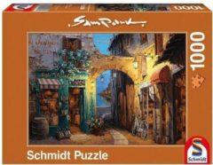 Schmidt Puzzel Steegje Aan Het Comomeer - 1000 Stukjes