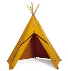 Roommate Hippie Tipi Tent Yellow Ochre
