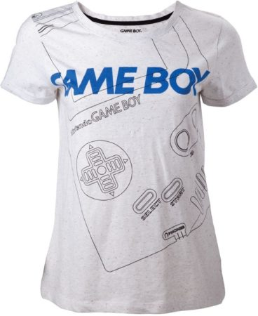 Afbeelding van Bioworld Europe NINTENDO - T-Shirt Gameboy Line - GIRLS (L)