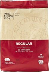 Koffiepads Mokka Regular 3 zakken met 36 Koffiepads Alex Meijer Glutenvrij