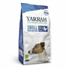 2 kg Yarrah dog biologische brokken small breed kip hondenvoer