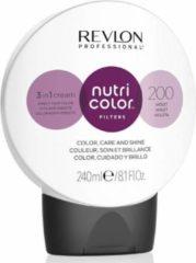 Zwarte Revlon Nutri Color Filters 200 Violet 240ml