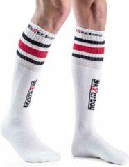 Witte Sk8erboy Tube Socks