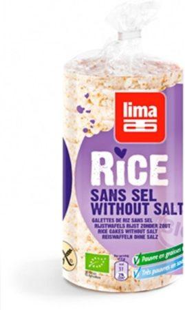 Afbeelding van Lima Rijstwafels zonder toegevoegd zout 100 Gram