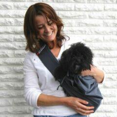 Blauwe 4LazyLegs Pocket Draagtas voor Pups en Kleine Honden tot 7kg