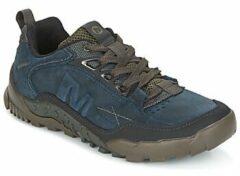 Blauwe Lage Sneakers Merrell ANNEX TRAK LOW