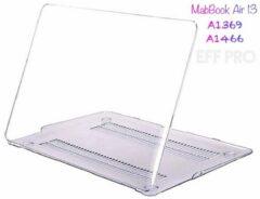 Effpro Macbook Air 13 inch (modellen t/m 2017) Laptop Cover - Clear Hard Case - Transparant – Eff Pro