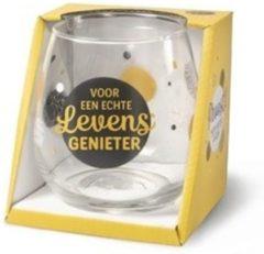 Gouden Miko Wijn- waterglas - Voor een echte levensgenieter