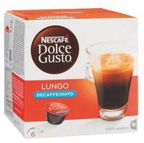 Afbeelding van Nescafé Dolce Gusto koffiecapsules, Lungo Decaffeinato, pak van 16 stuks