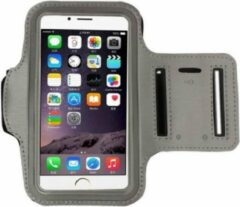 Go Go Gadget Sport Armband - Universeel - Verstelbaar - Hardlooparmband - Spatwaterdicht - Bescherming - Lichtgewicht - 85 x 165 mm (5,5 inch) - Grijs