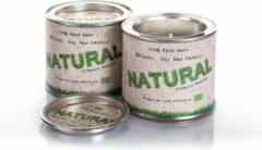 Groene Saules Eco Sojawas kaars in blik NATURAL JASMINE-GREEN TEA