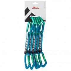 AustriAlpin - Eleven Set Alu Tanga Schnapper (Limited Ed.) - Klimset maat 5-Pack, turkoois/grijs/blauw