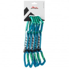 AustriAlpin - Eleven Set Alu Tanga Schnapper (Limited Ed.) - Klim-set maat 5-Pack blauw/groen