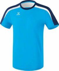 Marineblauwe Erima Liga 2.0 Trainingsshirt Volwassenen - Curacao/New Navy/Wit