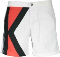 Karl Lagerfeld Beachwear Zwembroek Wit 2XL Heren