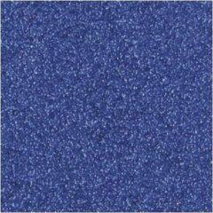 3x Donkerblauw glitter papier/karton vellen 30,5 x 30,5 cm hobby/knutselmateriaal - Hobby scrapbooking artikelen - Knutselen glitterpapier