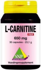 SNP L-Carnitine 650 mg puur 30 Capsules