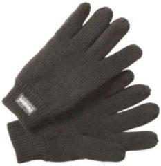 Antraciet-grijze Thinsulate Handschoenen Gebreid Heren Antraciet Maat 9