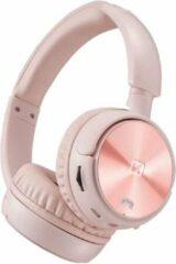 Swissten Trix - Draadloze on-ear koptelefoon - Roze