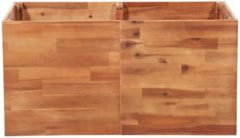 Bruine VidaXL Plantenbak 100x50x50 cm acaciahout