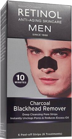 Afbeelding van Retinol Men Charcoal Black Head Remover