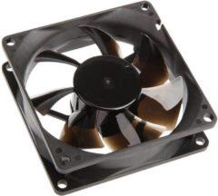 NoiseBlocker P-1 PC-ventilator Zwart (b x h x d) 80 x 80 x 25 mm