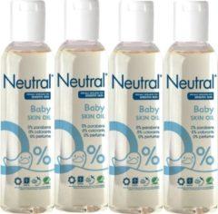 Neutral Baby Huidolie - 4 x 150 ml Voordeelverpakking