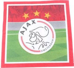Rode AFC Ajax Ajax Servetten 33 X 33 Cm 20 Stuks