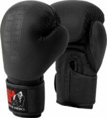 Zwarte Gorilla Wear Montello Bokshandschoenen - Boxing Gloves - Boksen - 12 oz
