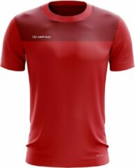Jartazi T-shirt Bari Junior Polyester Rood Maat 134-140