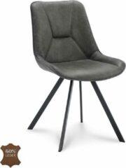 Happy Chairs - Eetkamerstoel Hugo - Bull Grafiet