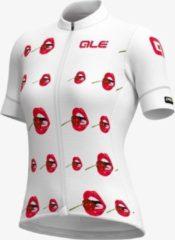 Gouden Alé Women's Graphics PRR Smile Summer Cycling Jersey - Fietstruien
