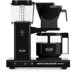 Technivorm Filterkoffiemachine KBG Select, Black - Moccamaster