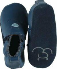 Noukie's , soepele schoentjes , blauw , 19-20 of 6-12 maand