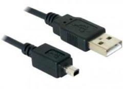 Delock USB-Kabel - USB (M) bis Mini-USB Typ B, 4-polig (M) 82113