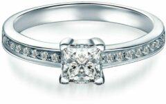 Tresor 1934 Tresor Solitaire ring - Sterling zilver - zilver - 50