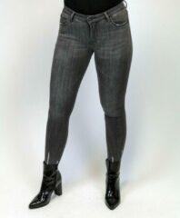 Merkloos / Sans marque Queens Heart Fray Hem Jeans