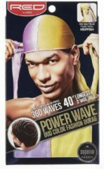 Paarse Red by Kiss Durag Duo Color Power Wave
