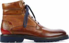 Melvin & Hamilton Mannen Boots - Trevor 25 - Cognac - Maat 45