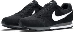 Antraciet-grijze Nike Md Runner 2 Heren Sneakers - Black/White-Anthracite - Maat 41