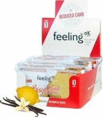 Feeling Ok | Biscottone Vanille Citroen Doos | 15 x 50 gram | Snel afvallen zonder hongergevoel!