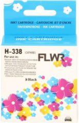 Pixeljet - Inktcartridge / Alternatief voor de HP 338 / Zwart
