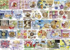 Gibsons puzzel Pork Pies & Puddings - 1000 stukjes