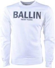 Ballin New York Ballin - Heren Trui - Sweat - Wit