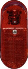 Rode Gazelle Achterlicht Led XB ovaal aan/uit batt.
