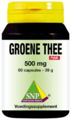 SNP Groene thee 500 mg puur 60 Capsules