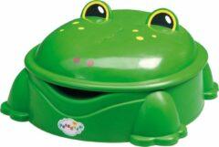 Paradiso Toys Freddy de Kikker - Zandbak met Deksel - Groen