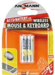 Ansmann Energy Ansmann maxE Wireless Mouse and Keyboard - Batterie 2 x AAA-Typ - NiMH - (wiederaufladbar) 5035503