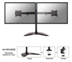 Newstar NM-D335DBLACK Flachbildschirm Desk Mount [schwarz] - Newstar